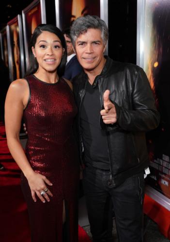 Esai Morales & Gina Rodriguez